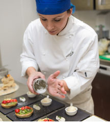 Professional cookery and hospitality