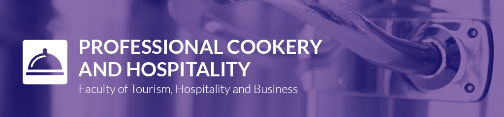 Professional Cookery and Hospitality banner