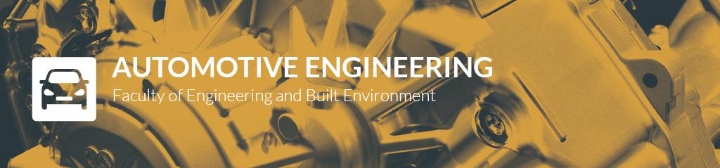 automotive engineering banner