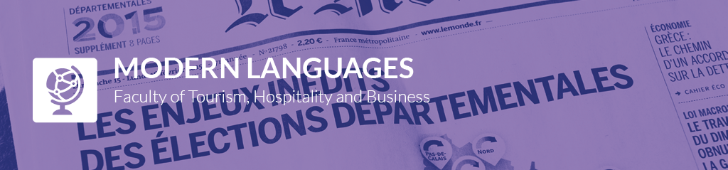 modern languages banner