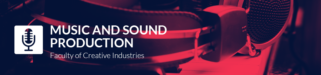 music and sound production banner