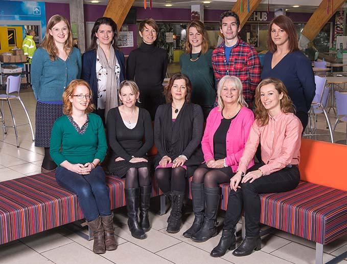 Edinburgh College International Team